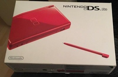 Nintendo DS Lite Red Complete