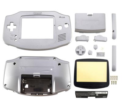 Game Boy Advance Shell Platinum (Silver)