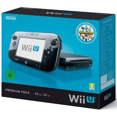Wii U 32GB Console Premium Bundel Zwart + Nintendo Land