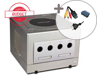 Nintendo Gamecube Console Silver Budget