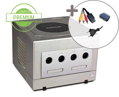 Nintendo Gamecube Console Silver Premium