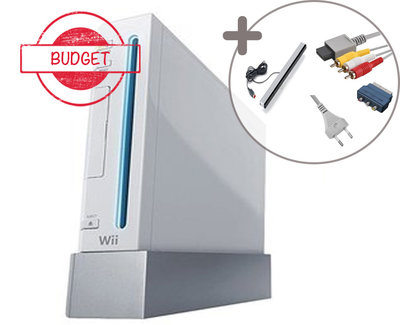 Nintendo Wii Console White [Budget]