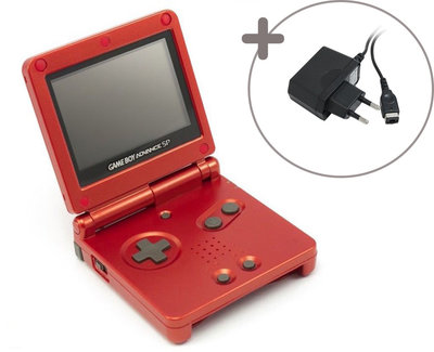 Gameboy Advance SP Red