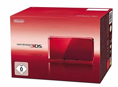 Nintendo 3DS Metalic Red [Complete]