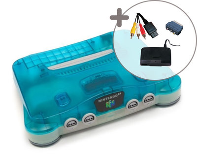 Nintendo 64 [N64] Console Aqua Blue