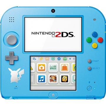 Nintendo 2DS Pokemon Sun Moon Edition - Light Blue