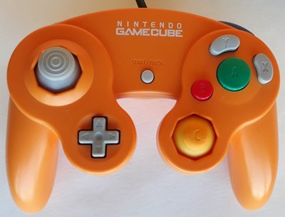 Originele Nintendo Gamecube Controller Orange