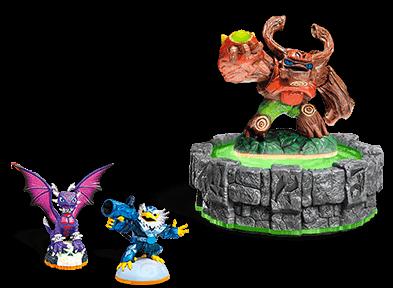 Skylanders Starter Pack (Giants, Trap Team, Superchargers, Spyro's Adventure)