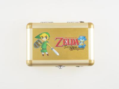 Zelda Phantom Hourglass - Aluminum Gold Case - Nintendo DS