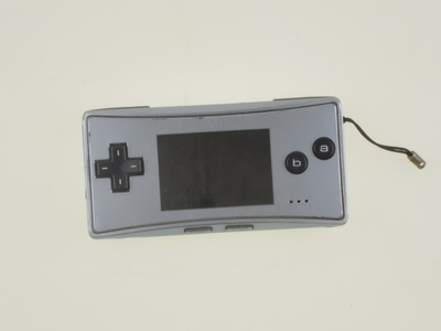 Game Boy Micro Silver