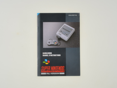 Super Nintendo Console Manual