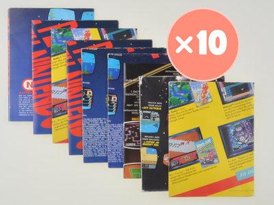 Nintendo NES Advertisement Mix - 10x