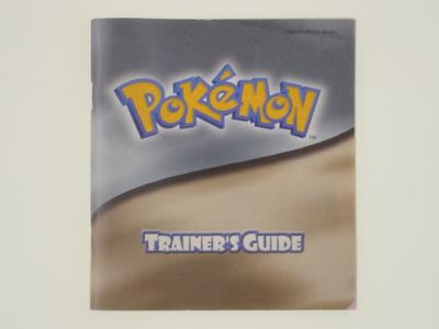 Pokemon Silver/Gold Trainer Guide