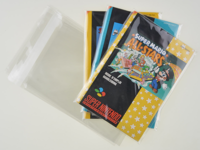 Super Nintendo Manual Bag