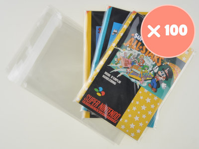 100x Super Nintendo Manual Bag
