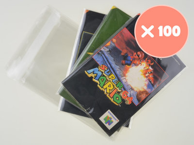 100x Nintendo 64 Manual Bag