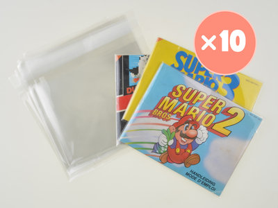 10x Nintendo NES Manual Bag