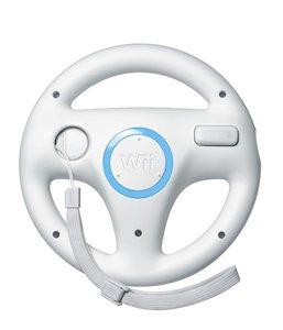 Nintendo Wii Steering Wheel - White (back)