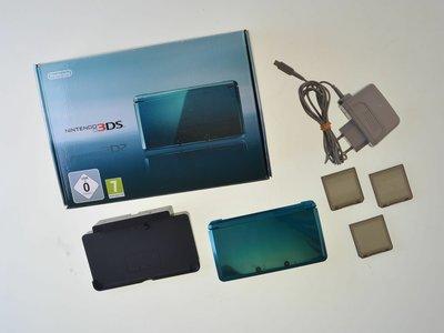 Nintendo 3DS Aqua Blue [Complete]