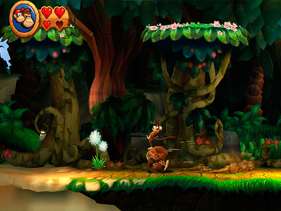 Nintendo Wii Screenshot Donkey Kong Country Returns