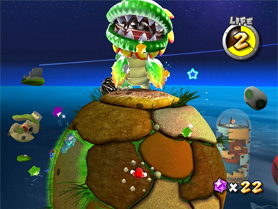 Nintendo Wii Screenshot Super Mario Galaxy