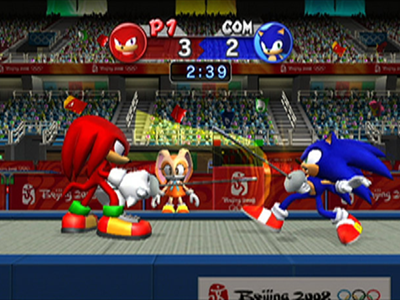 Nintendo Wii Screenshot Mario & Sonic at the Olympic Games