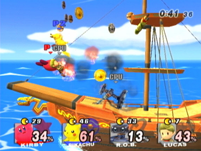 Nintendo Wii Screenshot Super Smash Bros Brawl