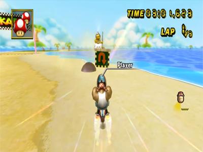 Nintendo Wii Screenshot Mario Kart Wii