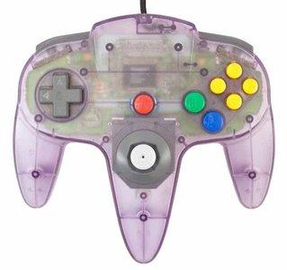 Originele Nintendo 64 Controller Atomic Purple