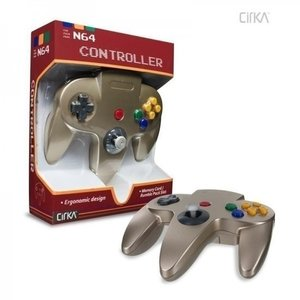 New Nintendo 64 [N64] Controller Gold