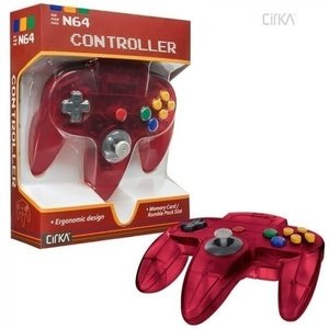 New Nintendo 64 [N64] Controller Atomic Red
