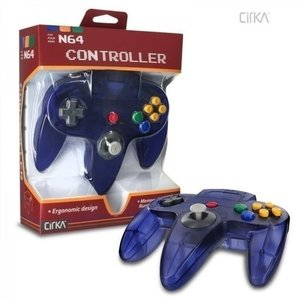 New Nintendo 64 [N64] Controller Clear Purple