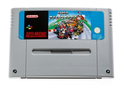 Super Mario Kart SNES Cart