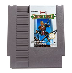 Castlevania 2 Simon's Quest NES Cart