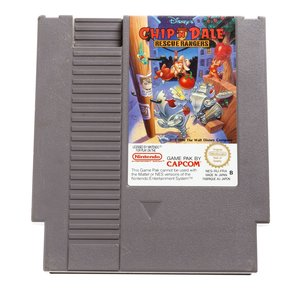 Chip n Dale Rescue Rangers NES Cart