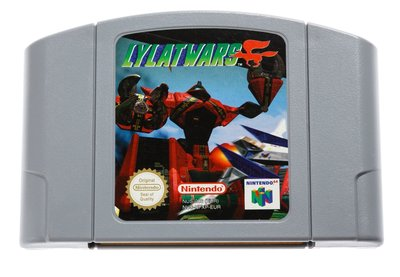 Lylatwars N64 Cart