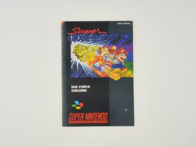 Super Gameboy Manual