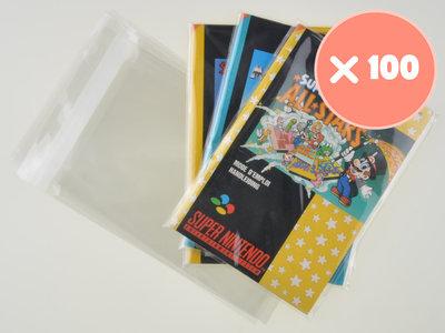 100x Super Nintendo Manual Bag